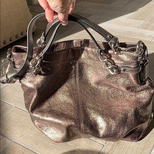 Coach Metallic bag